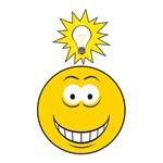 Bright Idea Smart Smiley Face