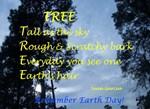 EARTH DAY POEM TREE EARTH'S HAIR
