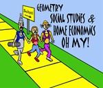 GEOMETRY SOCIAL STUDES HOME ECONOMICS OH MY!
