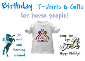 Birthday, Sweet 16, and horse - theme birthday t's