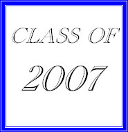 Class of 2007 t-shirts