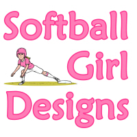 Softball Girl Designs