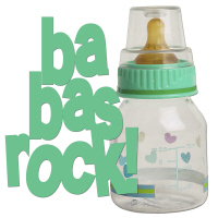 Pacifier Rattle Bottle Baby Toddler T Shirts Gifts