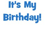 It's My Birthday! Blue