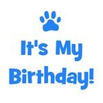 It's My Birthday - Blue Paw