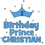 Christian 1st Birthday Prince!