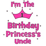 1st Birthday Princess's Uncle!