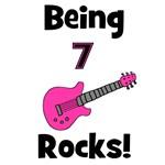 Being 7 Rocks! pink