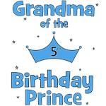 Grandma of the 5th Birthday Prince!