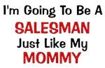 Salesman Mommy Profession