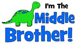 I'm The MIDDLE Brother! Dinosaur
