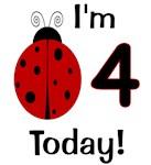 Ladybug I'm 4 Today!