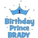 1st Birthday Prince BRADY