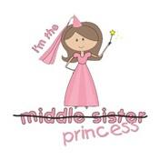 princess sister middle cross