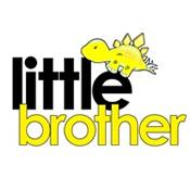 little brother t-shirt dinosaur