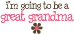 going to be a great grandma