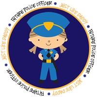 Girl Occupation Police Like Daddy