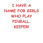 funny pinball joke on gifts and t-shirts.