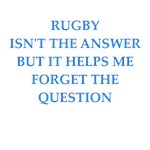 a funny table rugby joke on gifts and t-shirts.