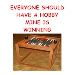 a funny backgammon player joke on gifts and t-shir