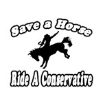 Save Horse, Ride Conservative