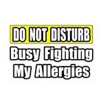 Busy Fighting My Allergies