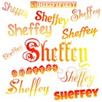 Sheffey Fonts - Orange, Red and Yellow 9675