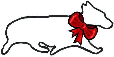 <h4>Holiday Pembroke Welsh Corgi</h4>