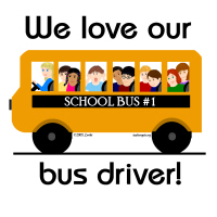 7. We love our Bus Driver!