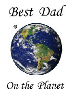 Best Dad on the Planet Space & Astronomy Gift Shop