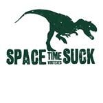 Space-time Vortexes Suck
