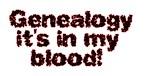 Genealogy it's in my blood ver 1