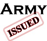 Army Issued Design
