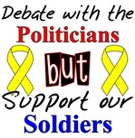 Debate Politicians Support our Soldiers