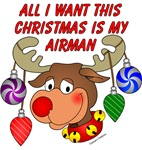 All I want this Christmas is my Airman