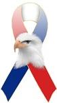 Patriotic Ribbon w/Eagle #3