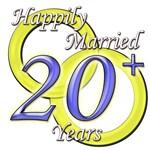 Twentieth Anniversary, blue