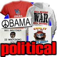 political t shirts & gifts