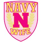 Super Navy Wife Crest