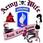 173rd Airborne Punk Tattoo Design