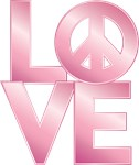 Pink LOVE=Peace