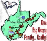WV - One Big Happy Family... Really!