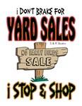 Break for yard sales