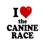 I Love Love The Canine Race