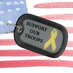 USA Flag Troops