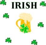 Irish Beer and Shamrocks For St Patricks Day Fun!