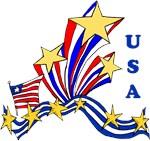 USA Flag and Patriotic Apparel From Bonfire Design