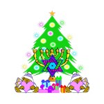 Christmas & Chanukah Families Together On
