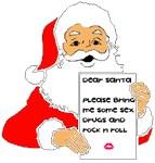 Sex Drugs Rock-n-Roll Santa