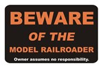 Beware / Model Railroader